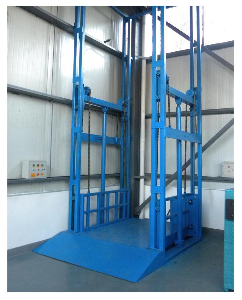 垂直液压升降货梯