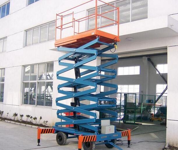 广州移动式剪叉升降平台交货