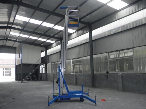 广州单桅铝合金升降机