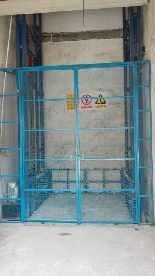 链条式导轨升降货梯